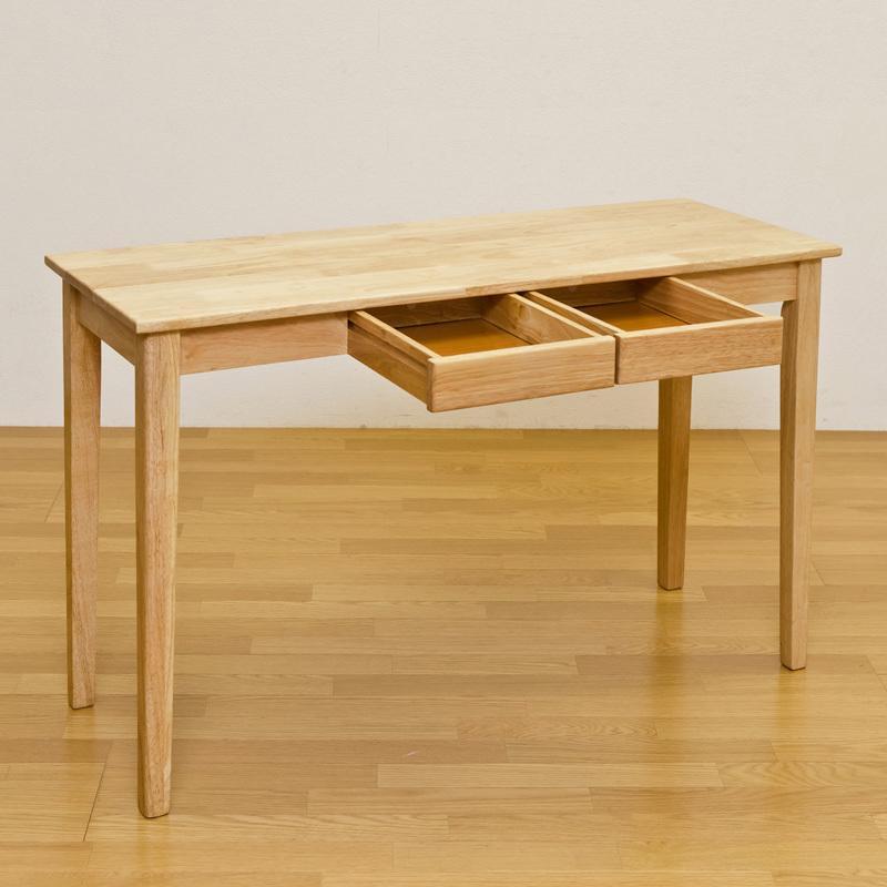 木製テーブル・デスク120×45(ナチュラル) UMT-1245NA