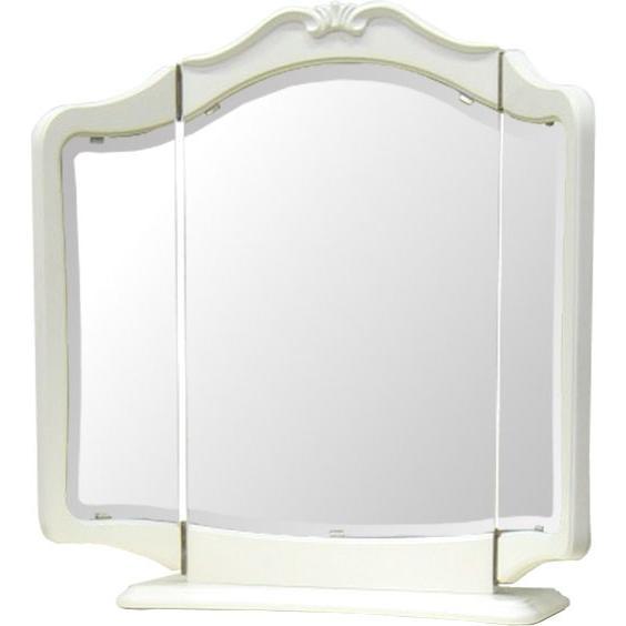 リモージュ置三面鏡(ホワイト・白)TOK-LI-376165 リモージュ置三面鏡(ホワイト・白)TOK-LI-376165 東海家具工業
