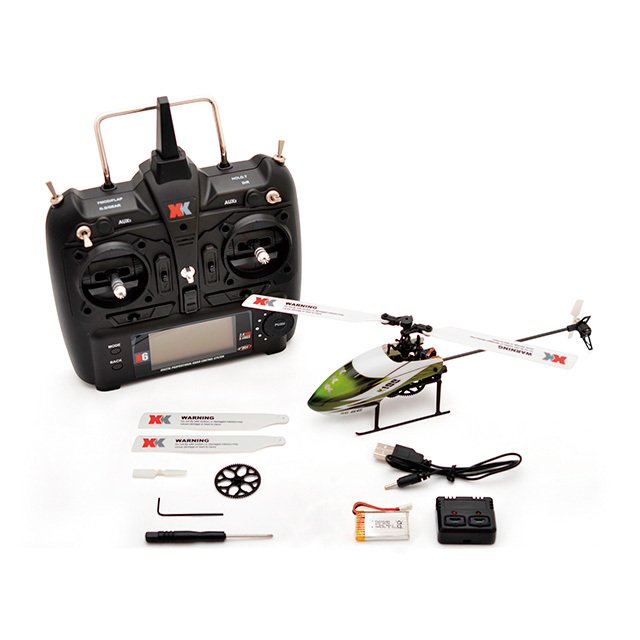 6CH 3D6Gシステムヘリコプター K100(フルセット)|hobby-road|02