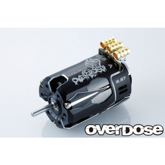 ★ OD2604 「 OD Factory Tuned Spec. Brushless Motor Ver.3 6.5T (ブラック) 」 オーバードーズ