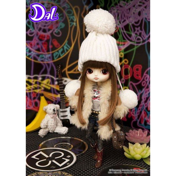 DAL(ダル) D-118 ちびRISA★VINTAGE ROCK GIRL(ちびリサ★ヴィンテージロックガール) 平子理沙プロデュース グルーヴ ドール