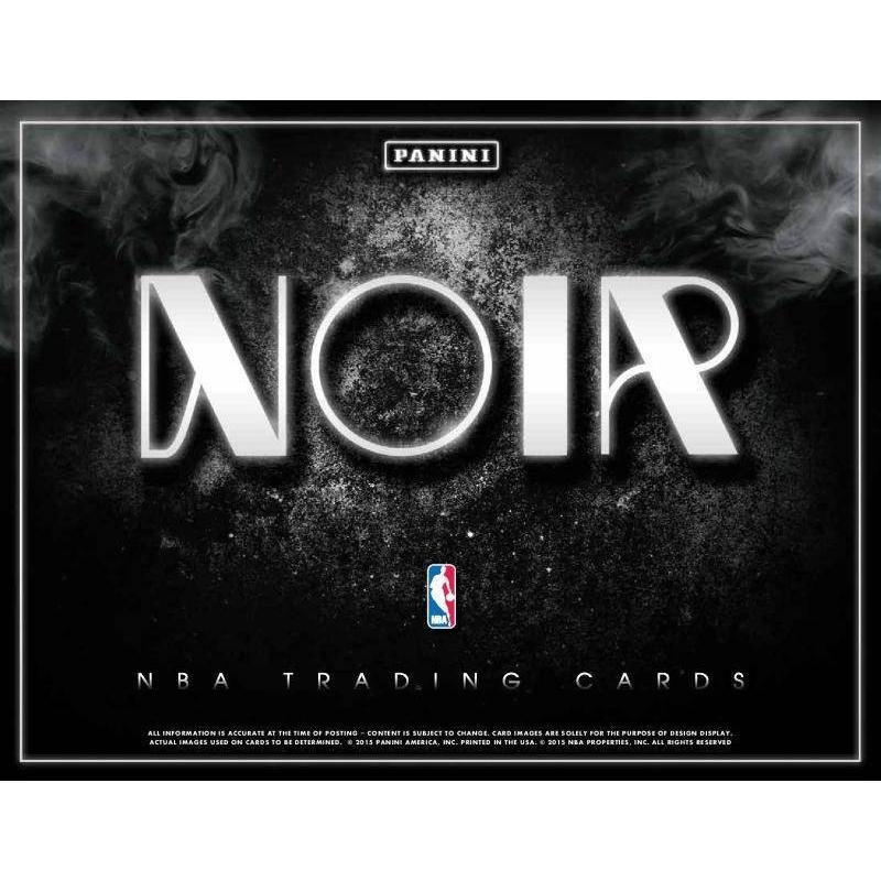 NBA 2014-15 PANINI NOIR BASKETBALL 1BOX(12枚入り) PANINI