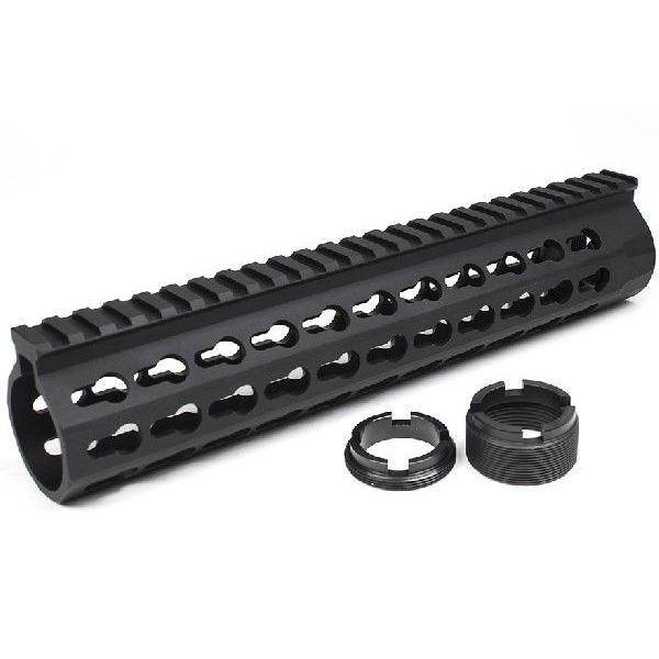 KACタイプ URX4 10インチ ハンドガード BK Mod Keyシステム M4