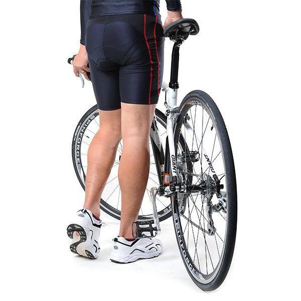 筋肉疲労を軽減スポーツウェアFIXFIT 品番:ACW-X06 話題のバイクサポートインナー バイク ショートタイツ パット付き コンプレッションインナー(20fi-008)|hobbyman