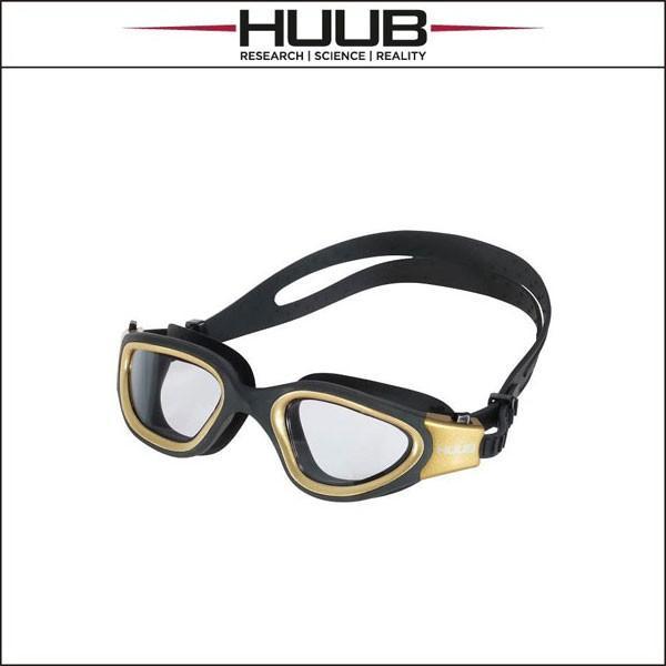 HUUB Aphotic Swim Goggle -ゴールド/黒- [ユニセックス]
