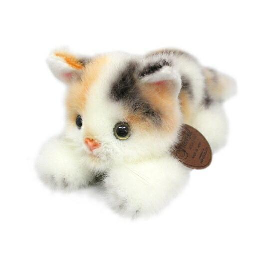 グレイスフル 復刻 こねこのミーヤ ミケ 這い ぬいぐるみ 高さ9cm 猫[送料無料 グッズ おもちゃ 雑貨 ギフト プレゼント] hobi-suto