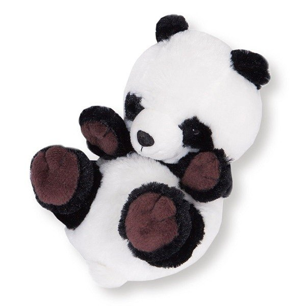 きゅんきゅんコロン パンダ ぬいぐるみ 長さ16cm 空気笛入り[送料無料 グッズ おもちゃ 雑貨 ギフト プレゼント] hobi-suto