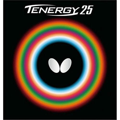 バタフライ(Butterfly) 卓球 ラバー テナジー・25 裏ソフト テンション (スピン) 05810 ブラック 厚