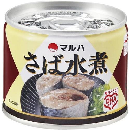 マルハ さば水煮 190g×4個|hobipoke