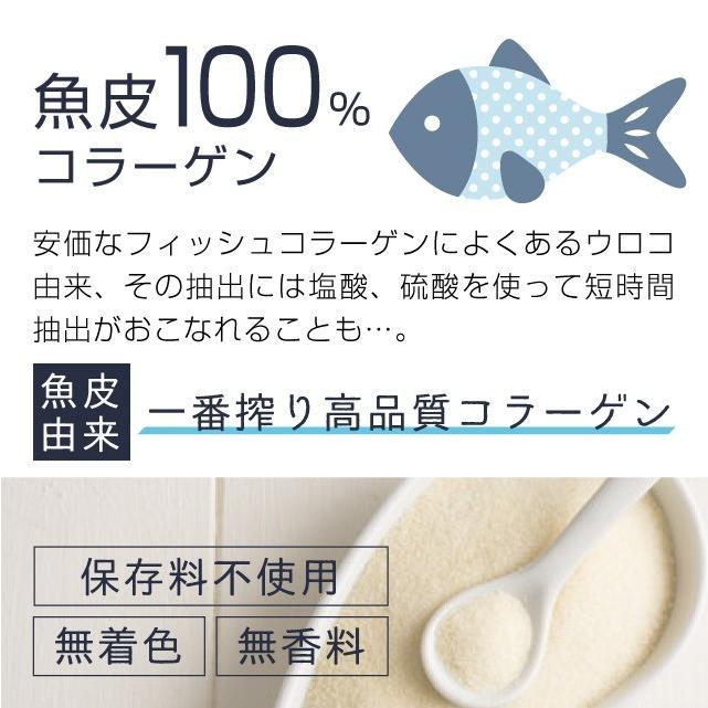 コラーゲン 粉末 500g フィッシュ サプリメント(コラーゲンペプチド 美容 collagen supplement)|hogarakagenki|04