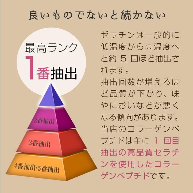 コラーゲン 粉末 500g フィッシュ サプリメント(コラーゲンペプチド 美容 collagen supplement)|hogarakagenki|08