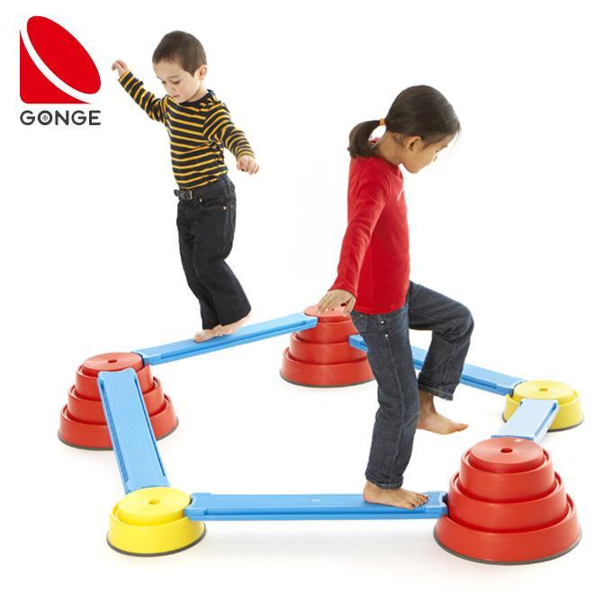 GONGE ゴンジ ビルド&バランスコース バランス感覚を養うアスレチック玩具