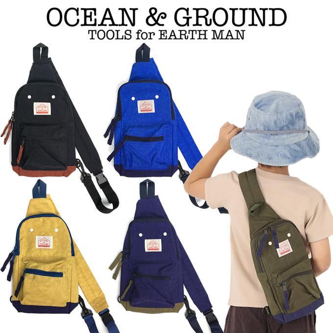 OCEAN amp; 即納 GROUND オーシャン アンド グラウンド 1ショルダーBAG GOODAY 5☆大好評