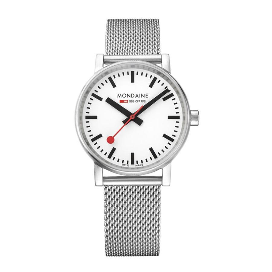 MONDAINE モンディーン SBB evo2 エヴォ2 35mm メッシュ MSE35110SM クォーツ 腕時計 スイス国鉄時計|hokindo1904|02