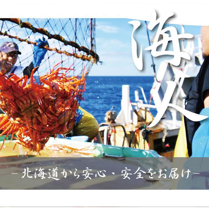 北海道産 紅 ズワイガニ【2尾セット】送料無料(ボイル:冷凍)(1尾500g~600g×2) hokkaido-giftmall 04