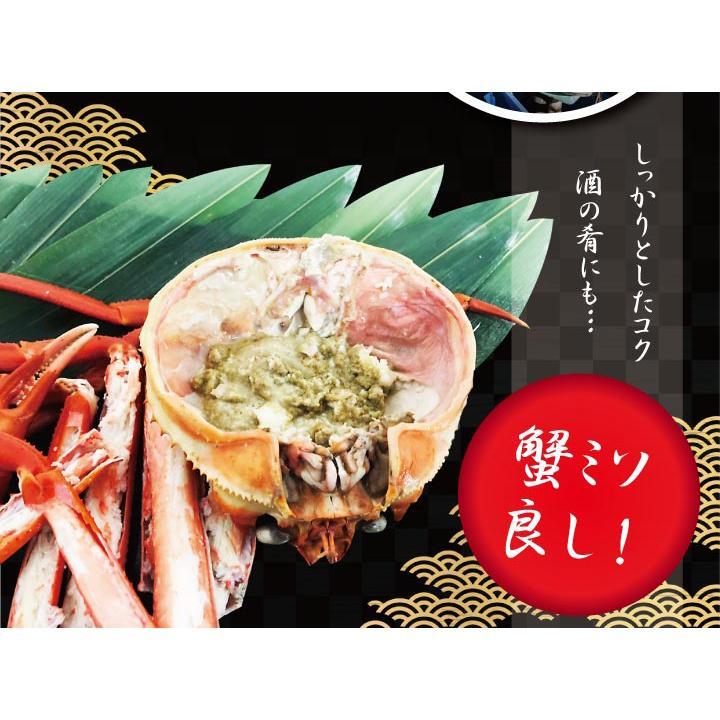 北海道産 紅 ズワイガニ【2尾セット】送料無料(ボイル:冷凍)(1尾500g~600g×2) hokkaido-giftmall 09