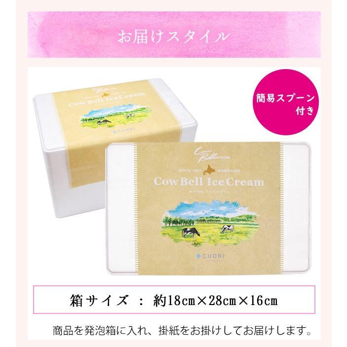 プレゼント ギフト アイス 北海道 送料無料 アイスクリーム カウベルアイス 6個セット / 北海道産 カップアイス チョコレート hokkaido-gourmation 09