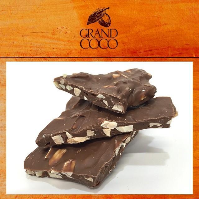 チョコ メール便 送料無料 お菓子 チョコレート 割れチョコ 80g / お試し ミルク ビター アーモンド hokkaido-gourmation 06