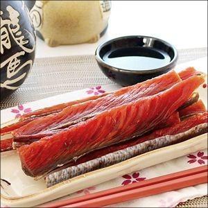 メール便 送料無料 食品 北海道産 鮭とば約1kg(500g×2袋) (熟成乾燥タイプ) / 大容量 業務用 海鮮 珍味 おつまみ 北海道|hokkaido-gourmation|03