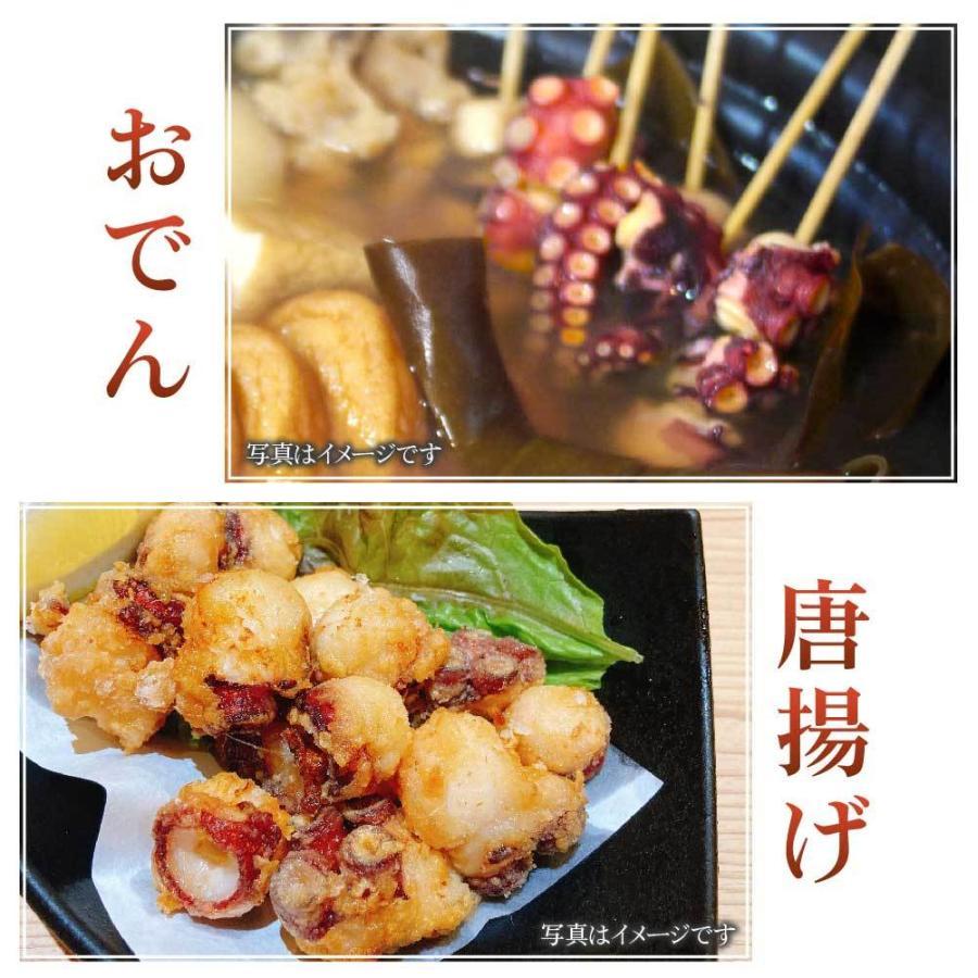 北海道産 水だこ 1本 400〜450g 送料無料 タコ たこ 水だこ 刺身 たっぷり 海鮮丼 ギフト フードロスロス お歳暮 御歳暮 クリスマス|hokkaido-okada|07