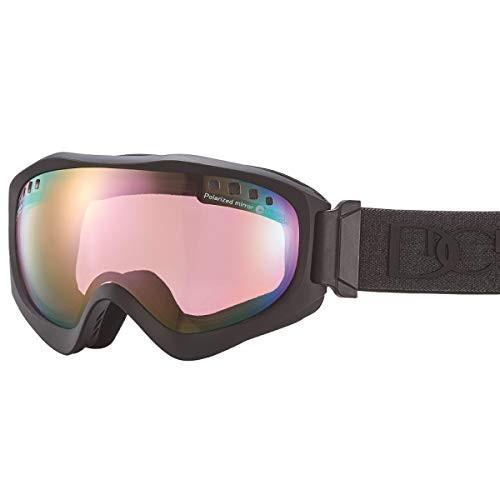 【国産ブランド】DICE(ダイス) スキー スノーボード ゴーグル ジャックポット 偏光 ミラー プレミアムアンチフォグ JP81361MBK
