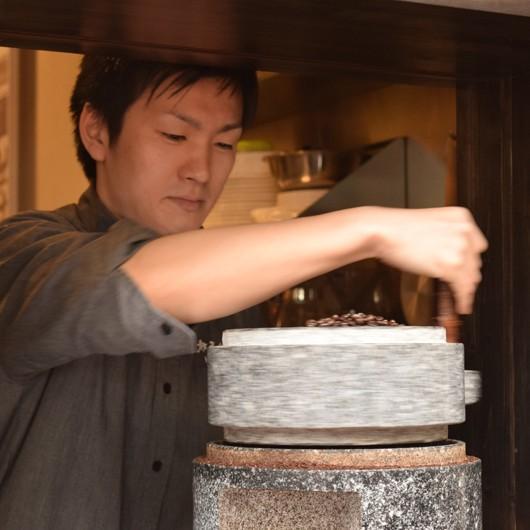 喜左ェ門 (シティロースト・深煎り豆生産国 コロンビア・エチオピア・インドネシア)200g|hokodocoffee|02