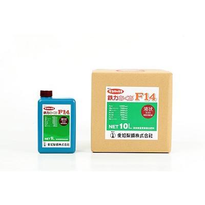 肥料 液肥 鉄力あくあF14 11kg(10L)