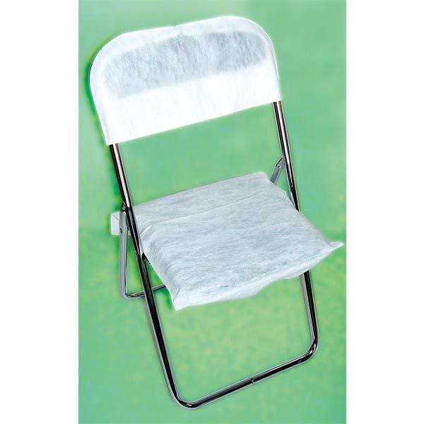 パイプ椅子カバー 背部分+座部分50セット Lサイズ【会場設営 式典 イベント 椅子カバー 使い捨て】|hokulea