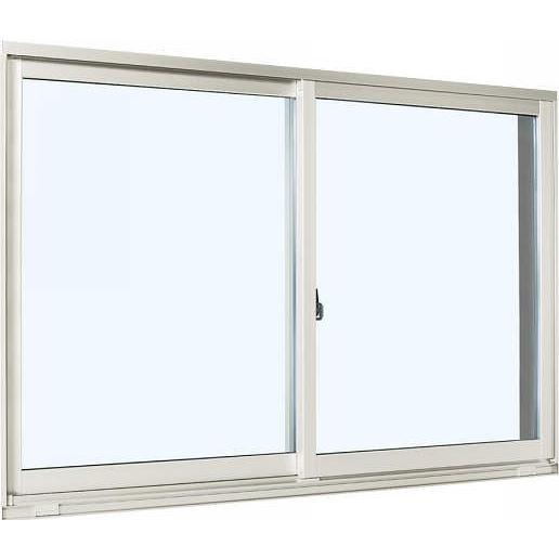 【正規品質保証】 YKKAP窓サッシ 引き違い窓 エピソード[Low-E複層防音ガラス] 2枚建 外付型[Low-E透明5mm+透明4mm]:[幅1267mm×高503mm], アメイズゴルフ b4b7de97