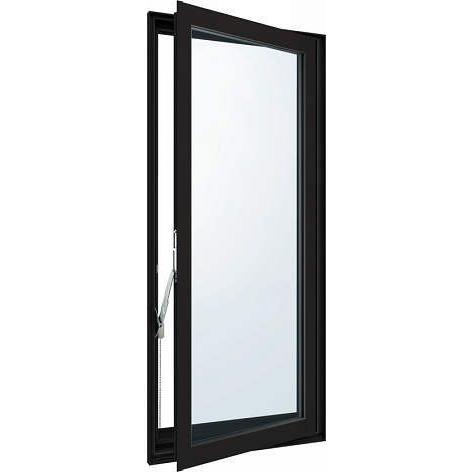 熱販売 YKKAP窓サッシ 装飾窓 エピソード[複層防音ガラス] 高所用たてすべり出し窓 [透明4mm+透明3mm]:[幅405mm×高770mm], 45degrees+ 667d9262