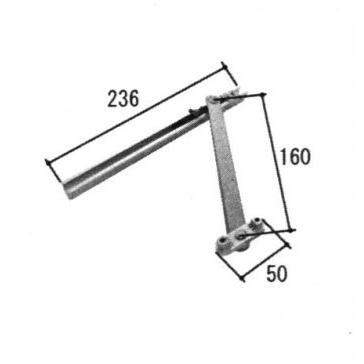 三協部品 装飾窓 アーム 数量は多 アームストッパー:アーム 下かまち 即納最大半額 下枠 TS-201940