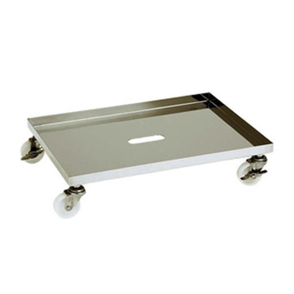 テックサス 容器専用台車(角型) CCT-5E 2台セット SUS 台車