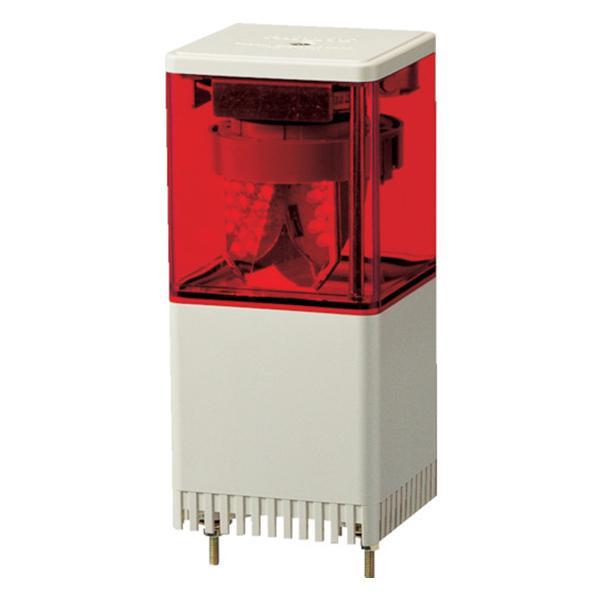 パトライト KES型 LED小型積層回転灯 82角 KES-202-R