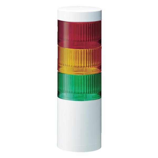 パトライト LR7型 積層信号灯 Φ70 直取付け LR7-302WJNW-RYG