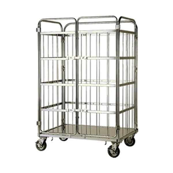 テックサス ロールボックスパレット観音扉 MCK-3E