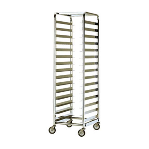 テックサス トレーラックカート(均等積載荷重400kg) RCH-2D-15L SUS 台車