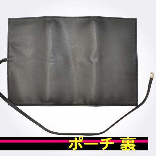 熊野筆/メイクブラシ・化粧筆/北斗園 Kシリーズ  HKポーチケース HK-PO|hokutoen|03