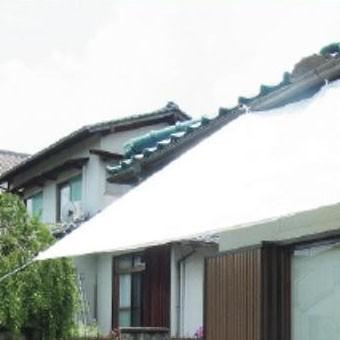 萩原工業 遮熱シート スノーテックス・クール 約1.8×1.8m 24枚入 代引不可
