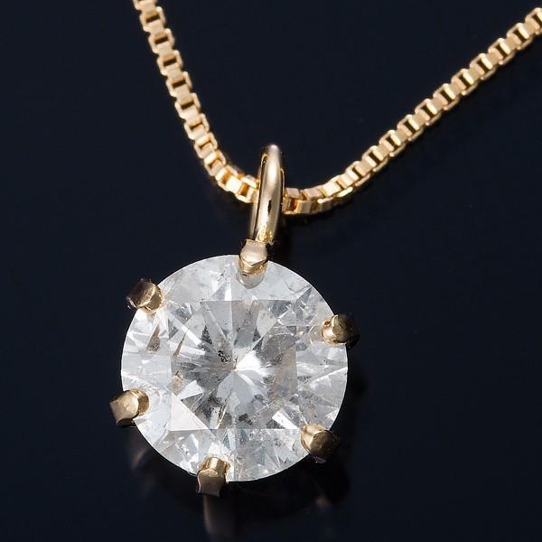 2019最新のスタイル K18 0.3ctダイヤモンドペンダント/ネックレス ベネチアンチェーン(鑑定書付き), DSKワイン 18911fea
