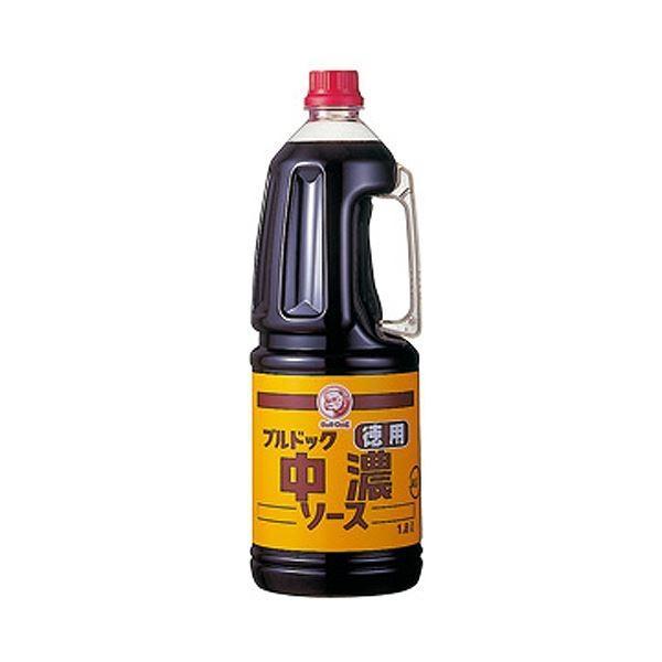 ブルドックソース 徳用中濃ソース1.8L 1セット(6本)