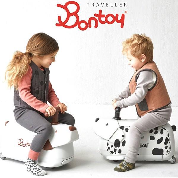 ボントイ トラベラー 犬型 キャリーケース 機内持込 Bontoy Traveller 子供 スーツケース キッズ キャリーバッグ 収納 おもちゃ箱  ダルメシアン ビーグル|holidayholiday|02