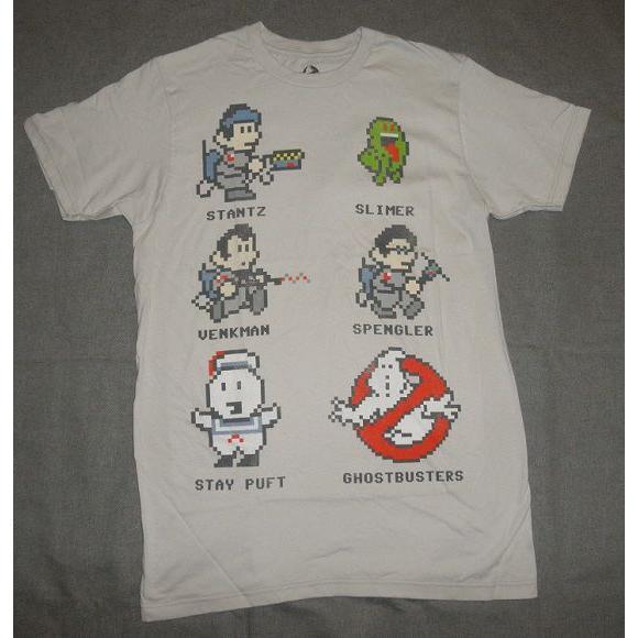 ゴーストバスターズ ゲームメンズTシャツ グレイ地 2XL(取り寄せオーダー) hollywoodscandal