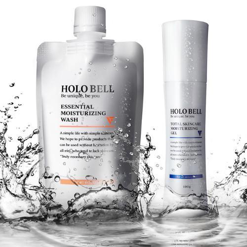 マート 公式 25%OFF HOLOBELL ホロベル メンズ スキンケア フェイスケアセット 洗顔料 化粧水男性用 オールインワン ニキビ肌 乾燥肌 敏感肌 脂性肌 化粧品