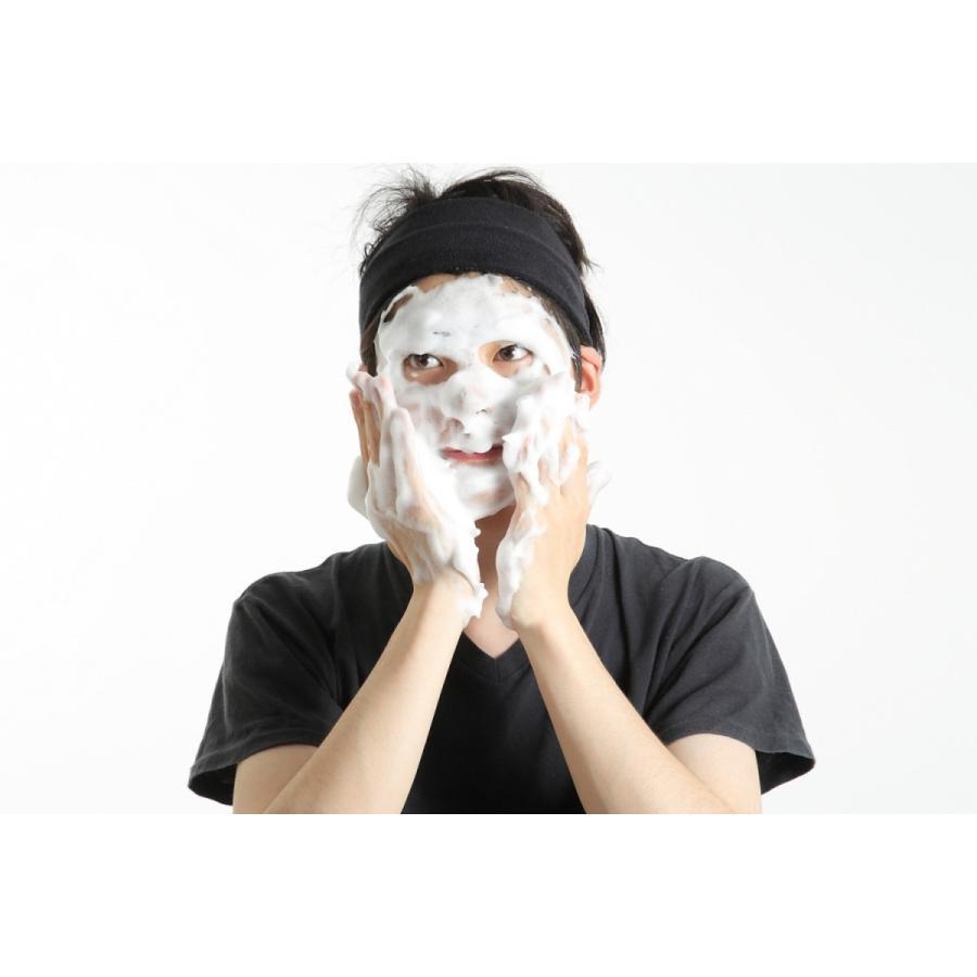 【公式】HOLOBELL(ホロベル)メンズ洗顔 エッセンシャル保湿ウォッシュ 120g 男性用 洗顔料 濃密泡 低刺激フォーム 乾燥肌・敏感肌・脂性肌・ニキビ肌|holo-bell-store|03