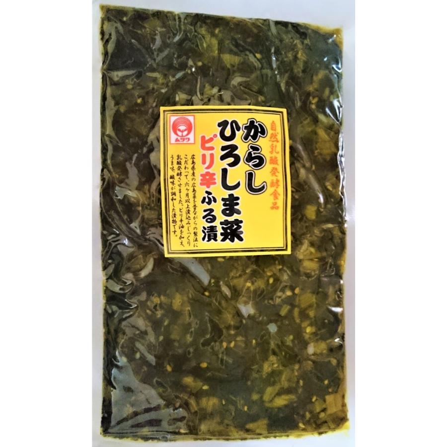 <ムツワ> 自然乳酸発酵食品 からしひろしま菜 ピリ辛ふる漬 150g|home407