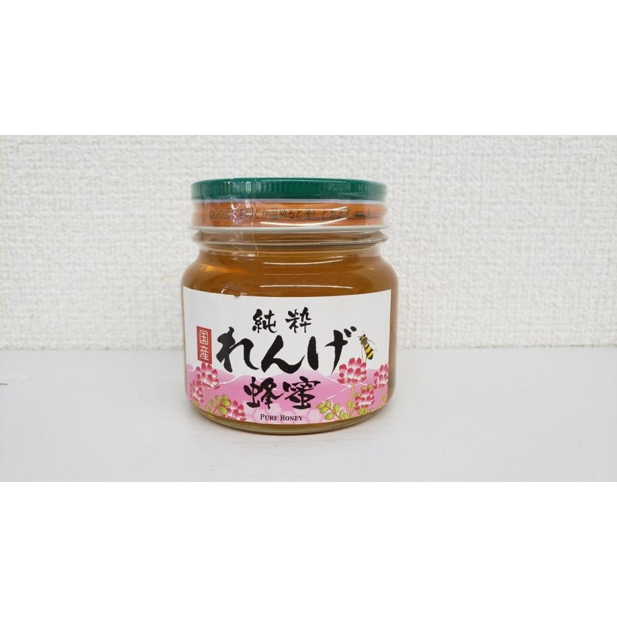 純粋 れんげ蜂蜜 300g home407