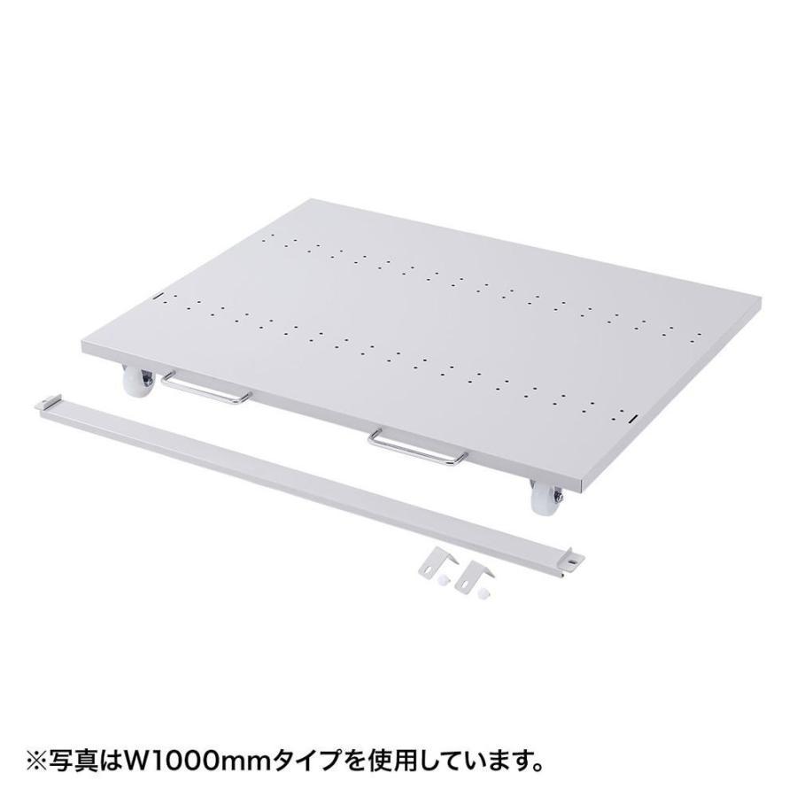 サンワサプライ eラック CPUスタンド(W800) ER-80CPU〔北海道・沖縄・離島 別途送料〕