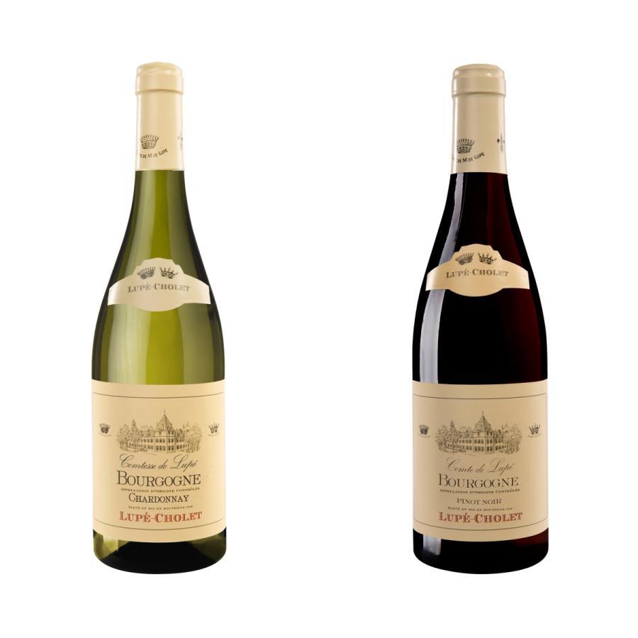 フランス ブルゴーニュ 赤白ワイン セット 銘醸ワイナリー お買い得2本組 地方名クラス ルペ ショーレ社 送料無料 homekitchenonline