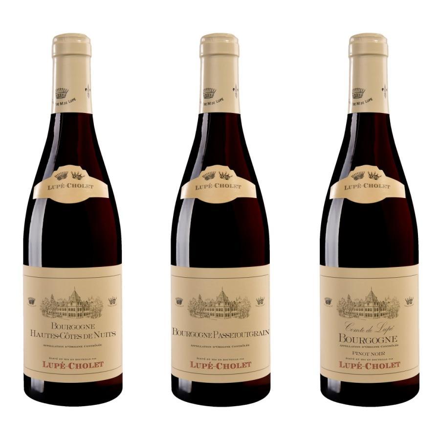 フランスワイン フランス ブルゴーニュ 赤ワイン セット お得な飲み比べ 3本組 送料無料 homekitchenonline