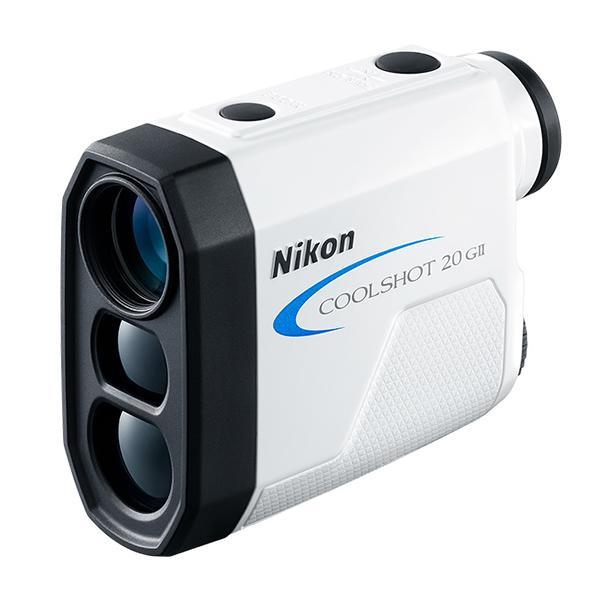 ニコン レーザー距離計 COOLSHOT20GII 直線距離専用モデル ゴルフ用距離測定器 (Nikon COOLSHOT 20 G2 GII)(メール便不可)